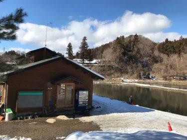 水遊び:エリアトラウト✖群馬県 1月のおくとねフィッシングパーク