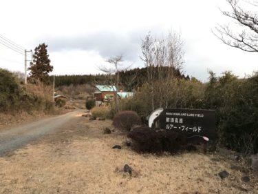 水遊び:エリアトラウト✖栃木県 1月の那須高原ルアーフィールド